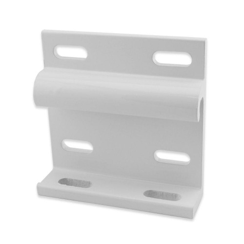 Soporte de pared blanco para el toldo cofre SAMOA