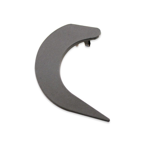 Tapa gris para el lateral derecho de la barra de carga del toldo cofre SAMOA
